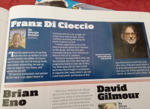 MUSICA Franz Di Cioccio tra le icone Prog