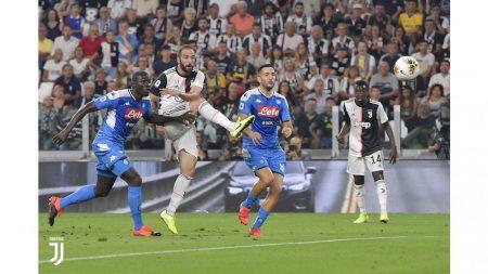 CALCIO Juventus-Napoli 4-3