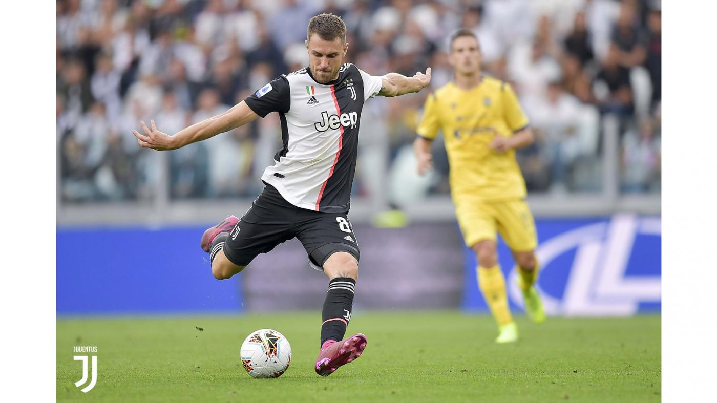 CALCIO Juventus-Verona 2-1