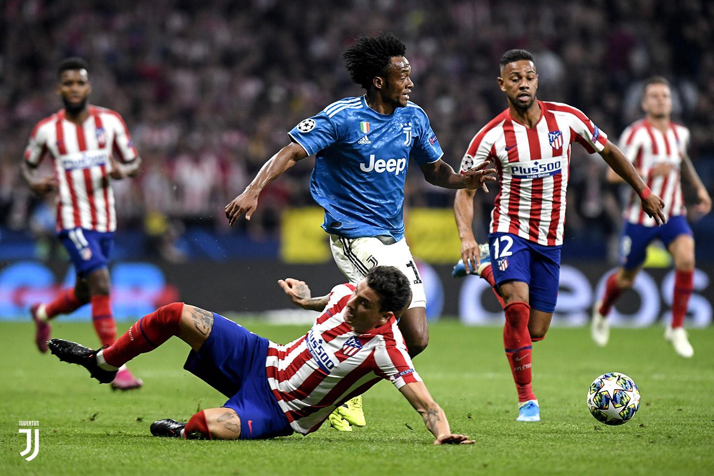 CALCIO Atletico Madrid-Juventus 2-2