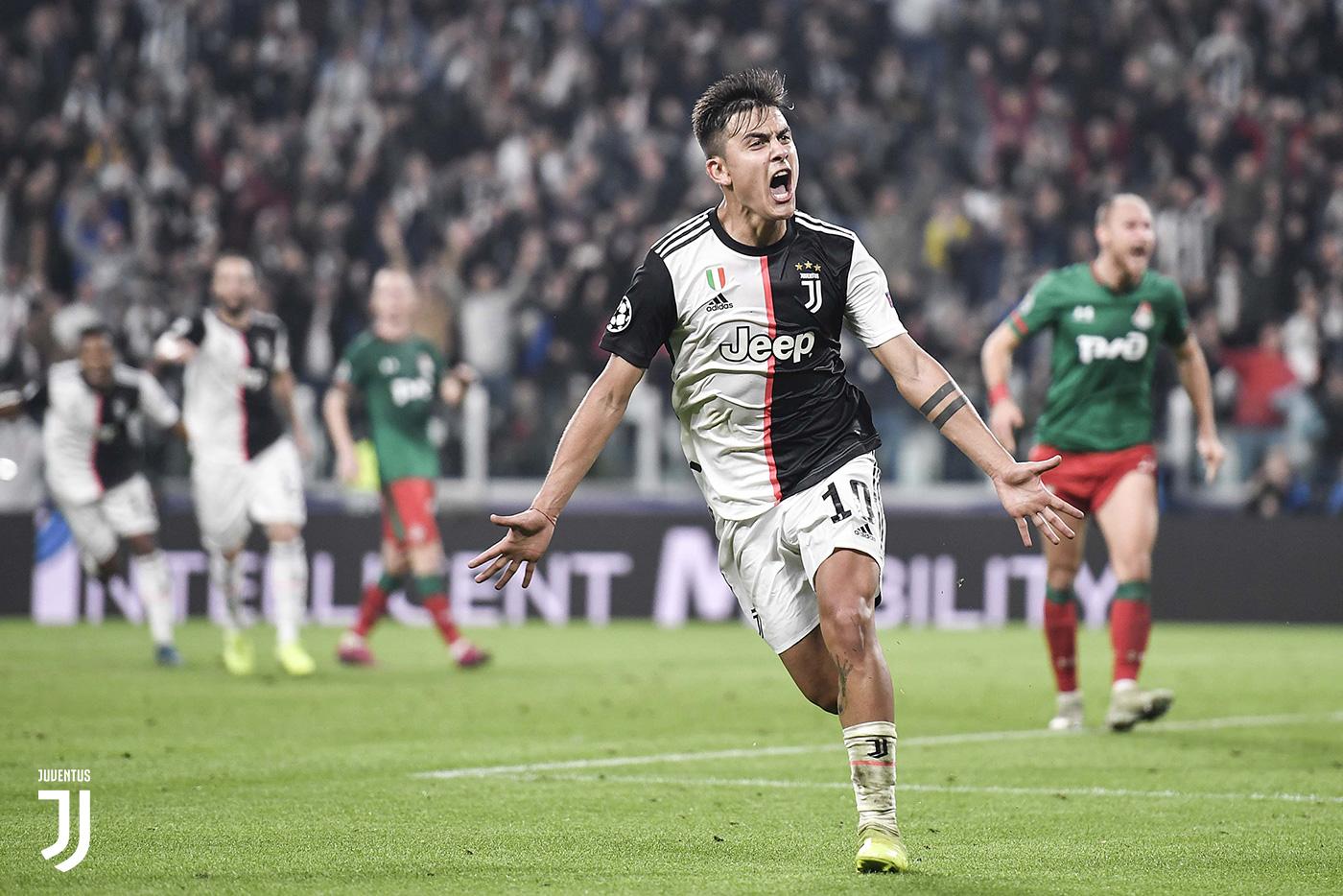 Juventus-Lokomotiv Mosca 2-1, Dybala show