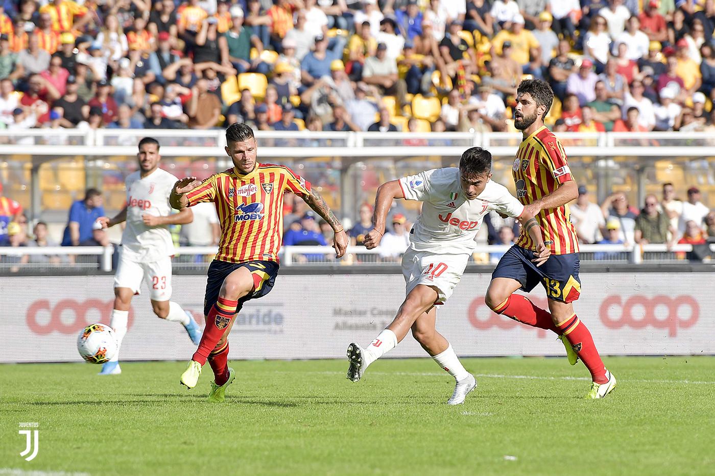 Lecce-Juventus 1-1, pareggio di rigore