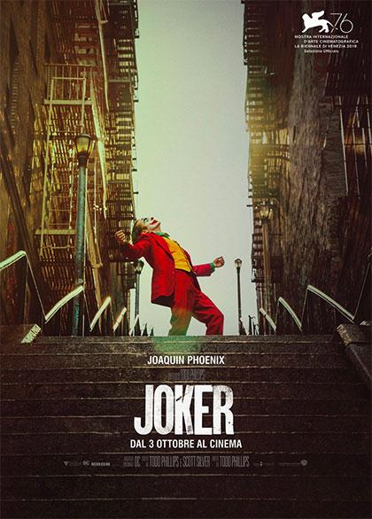 Joker, il film. La locandina