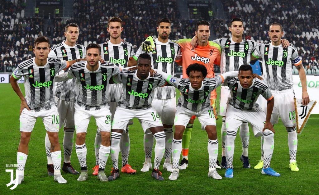 La maglia della Juventus contro il Genoa FOTO JUVENTUS:COM