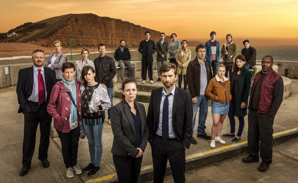 I personaggi di Broadchurch, serie Tv su Netflix