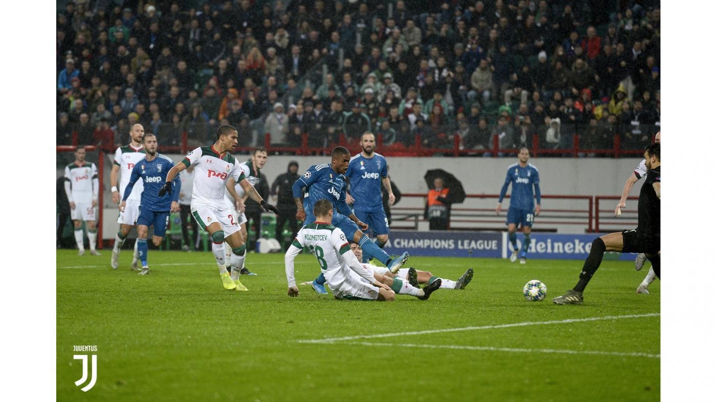 Lokomotiv-Juventus 1-2, la decide Douglas Costa