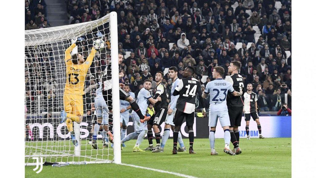 Il gol di Dybala su punizione Foto Juventus.com
