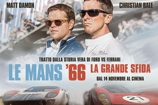 Le Mans '66, la grande sfida Ford-Ferrari al cinema