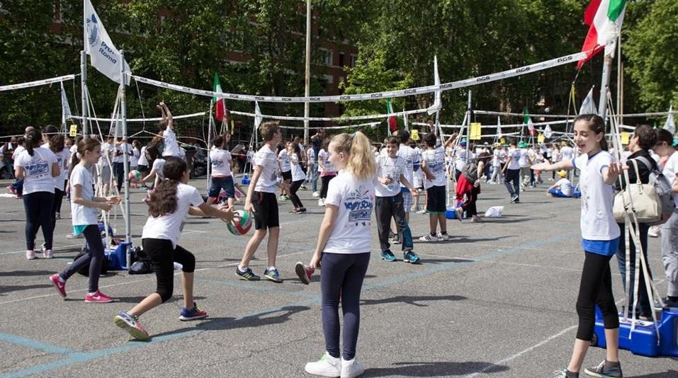 Mini Volley Fotto FIPAV Roma