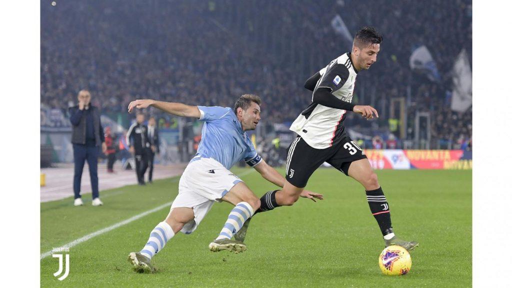 Bentancur aveva giocato un'ottima partita fino all'infortunio Foto Juventus.com