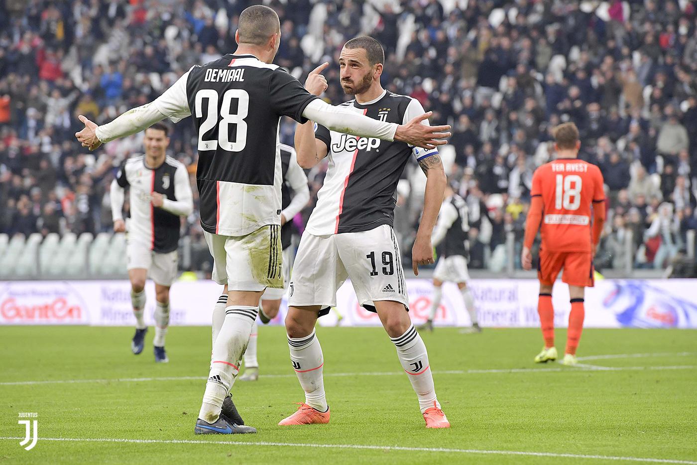 Juventus-Udinese 3-1, doppio Ronaldo col tridente