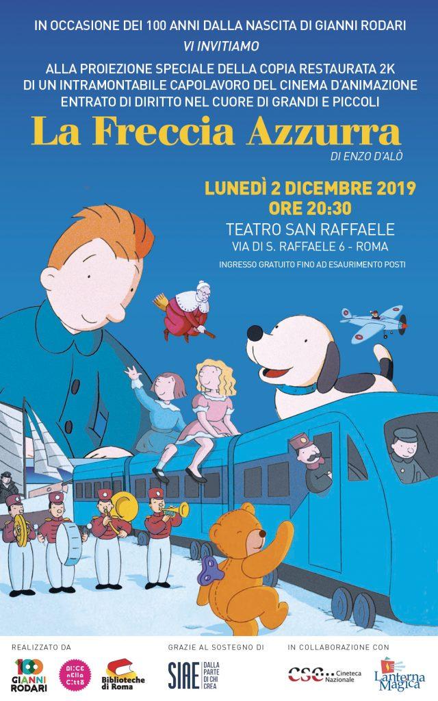 La Freccia Azzurra, di Enzo D'Alò, torna al cinema