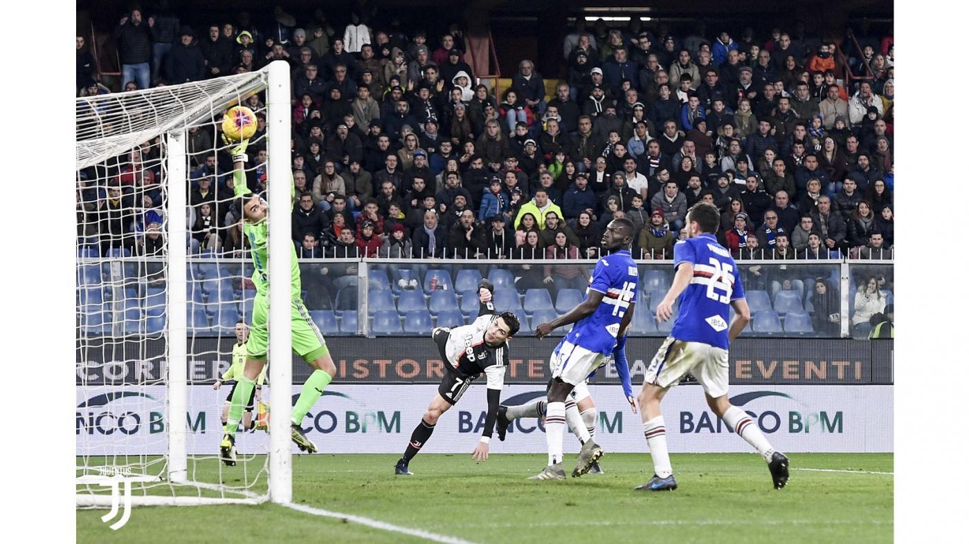 Sampdoria-Juventus 1-2, capolavori Dybala e Ronaldo