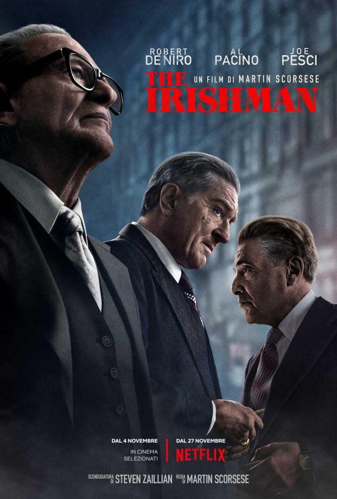 The Irishman, il film di Martin Scorsese