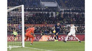 Roma-Juventus 1-2, cede il crociato di Zaniolo e Demiral