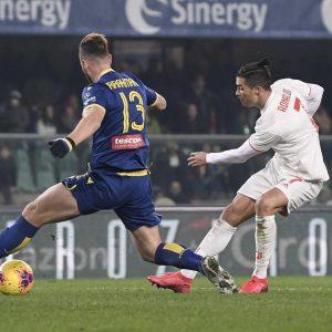 Verona-Juventus 2-1, c'è solo Ronaldo