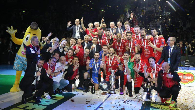 Coppa Italia, Juantorena match winner Lube