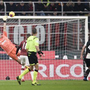 Coppa Italia, Milan-Juventus 1-1