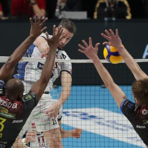 Coppa Italia volley, Lube in finale con Perugia