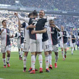 Juventus-Fiorentina 3-0, due rigori di Ronaldo