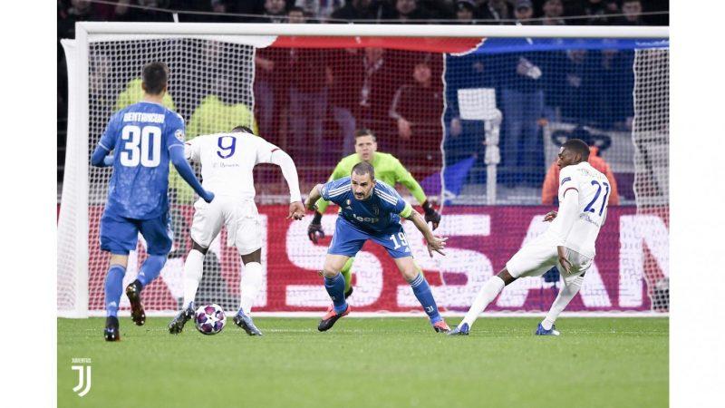Lione-Juventus 1-0, bianconeri lenti, inconsistenti, inadeguati
