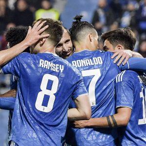 Spal-Juventus 1-2, lampi di Ronaldo e Ramsey