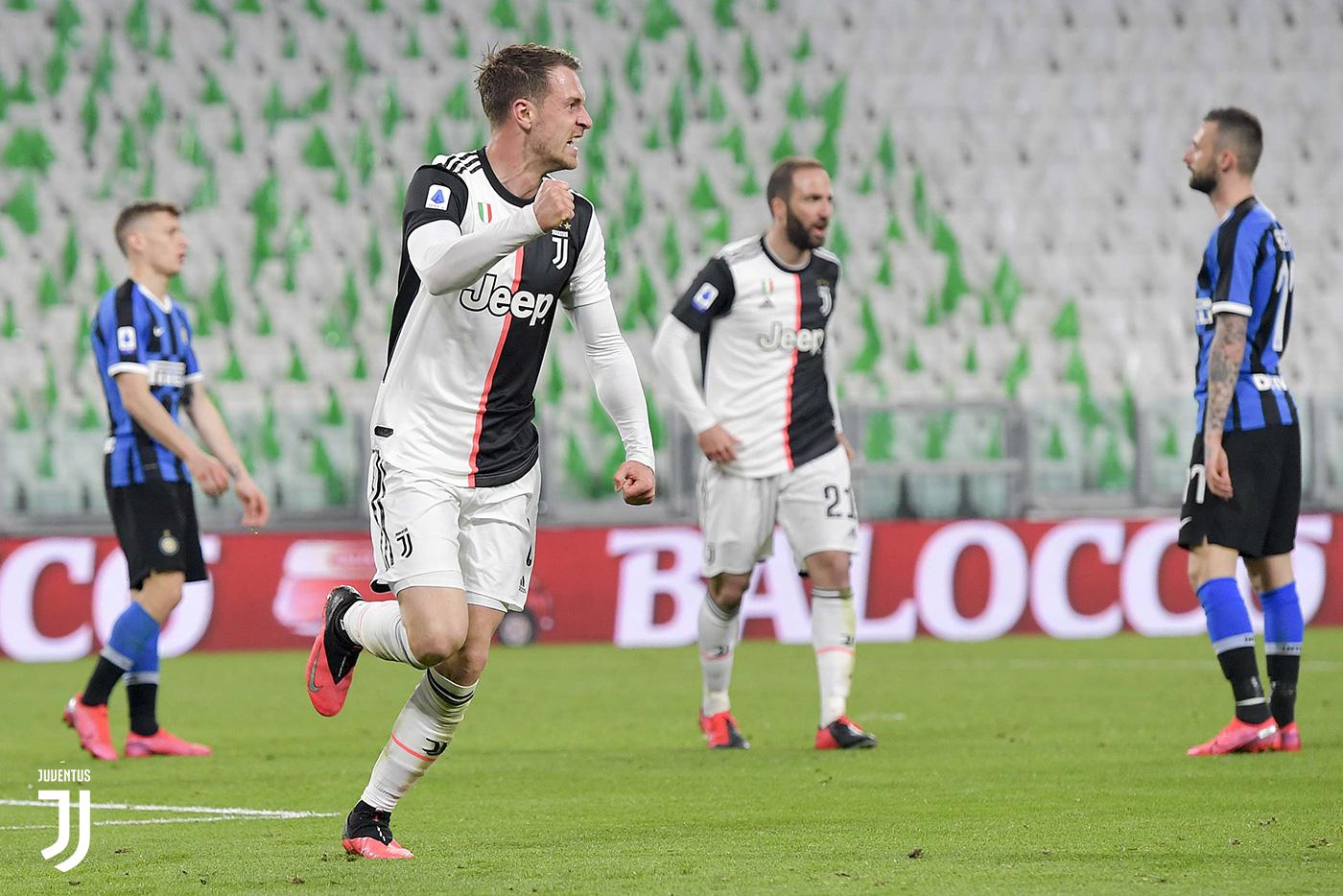 Juventus-Inter 2-0, Ramsey sblocca, Dybala da urlo