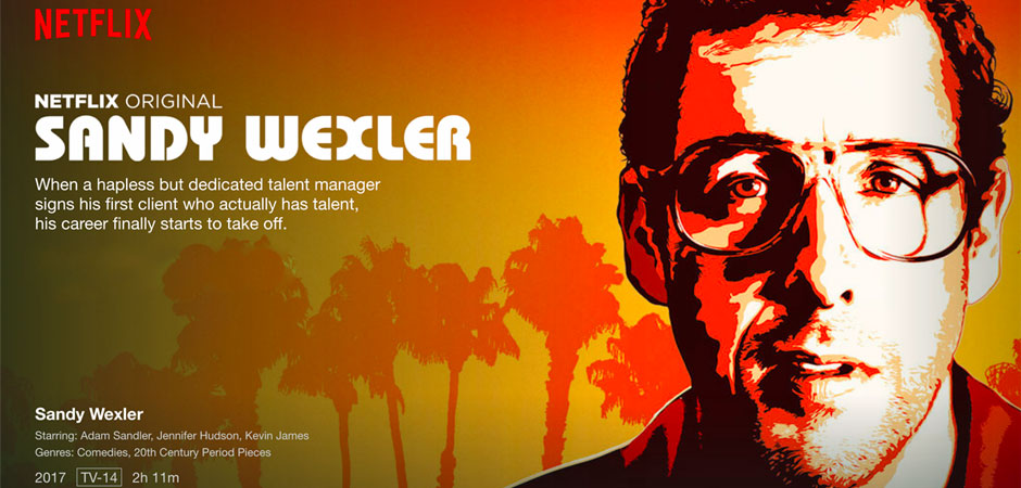 Sandy Wexler film   Recensione