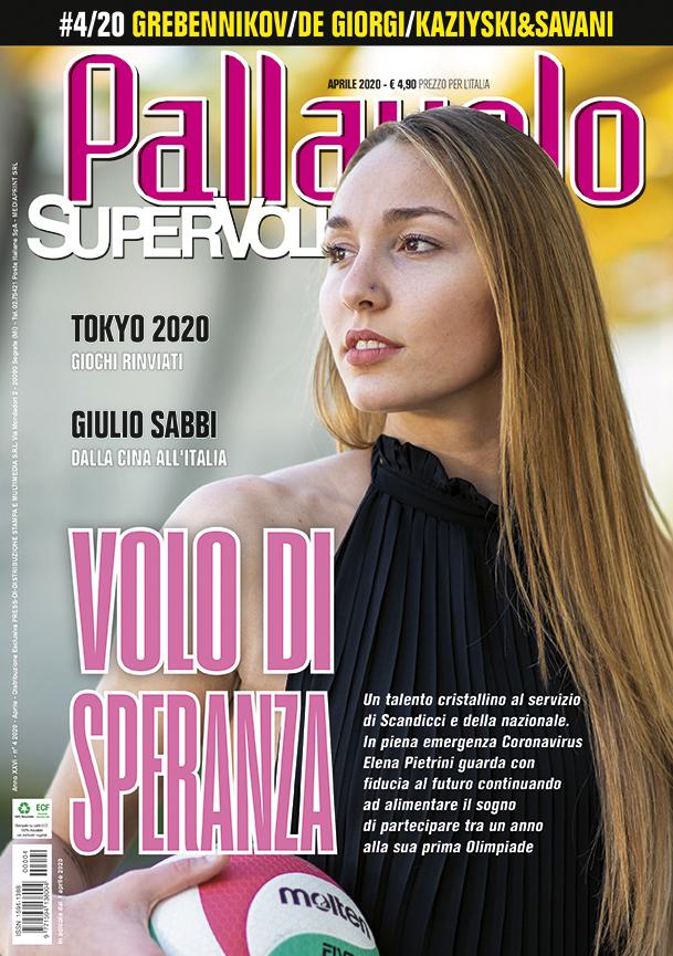 Pallavolo Supervolley, Elena Pietrini cover girl di aprile