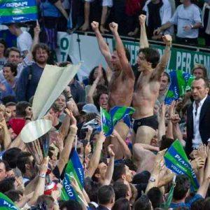 Piaggio Roma Volley, 20 anni fa lo scudetto degli scudetti