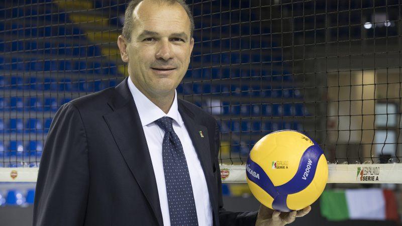 Massimo Righi nuovo presidente della Lega Pallavolo