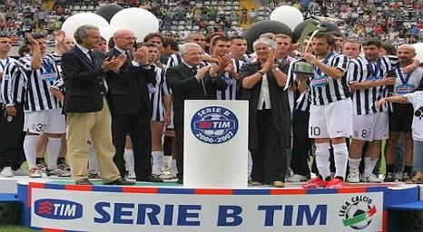 La Juventus vincitrice della Serie B di calcio 2006-07