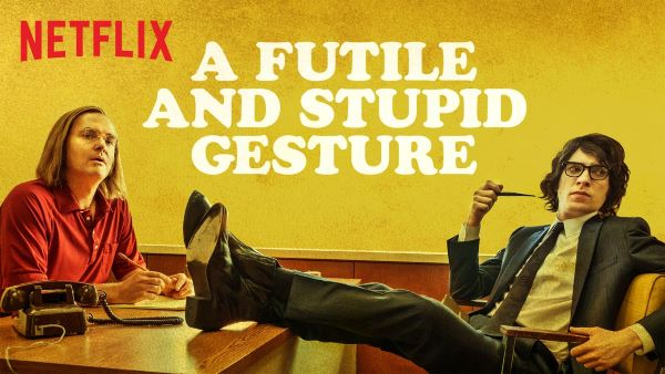 A Futile and Stupid Gesture | Recensione