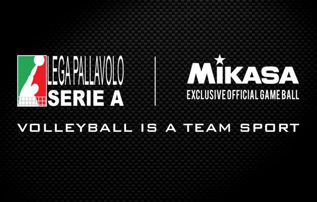 Mikasa pallone, altri 4 anni con la Lega Pallavolo