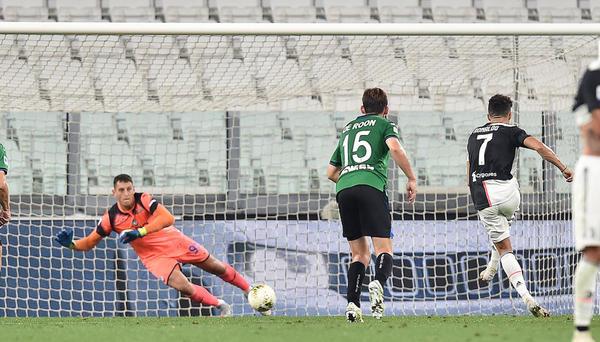 Juventus-Atalanta 2-2, due rigori di Ronaldo, 1 punto d'oro