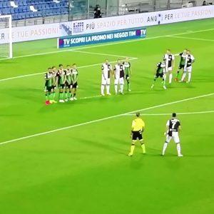 Sassuolo-Juventus 3-3, bianconeri in frenata libera
