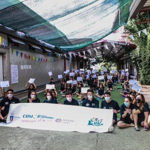 Coni-Regione Lazio compagni di sport ad Amatrice