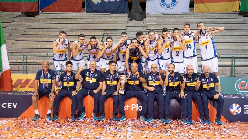 Velasco azzurro di nuovo su un podio, con Fanizza e U.18